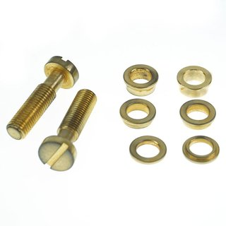 TL-IGA, Inch thread, gold plated aged