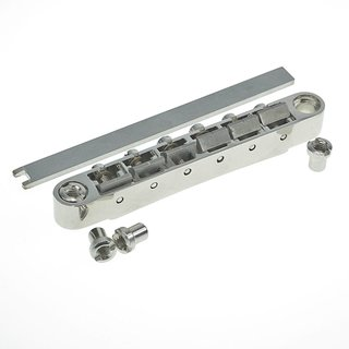ABRL-TG        ABRL Bridge, pat. pend. Locking System, Gloss Nickel, TITANIUM saddles