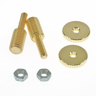 BSWKIT-GG, Bridge Stud/Adapter, Gold Gloss (one pair)