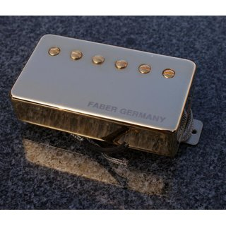 Faber Pickup Concerto grosso -Neck- Cover gold plated