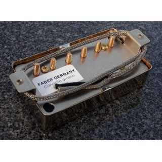 Faber Pickup Concerto grosso -Bridge- Cover gold plated