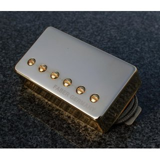 PUPCG-BGG        	Faber Pickup Concerto grosso -Bridge- Classic 59 PAF -hand wound- Germany, Cover gold plated